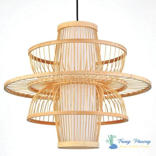 đèn mây tre đan mẫu đèn cánh bướm