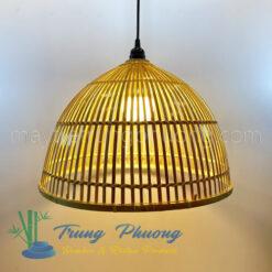 đèn nơm tre hình lồng bàn