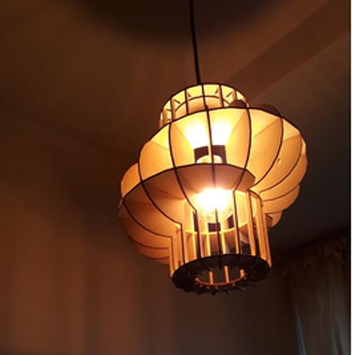 Đèn gỗ trang trí DG120