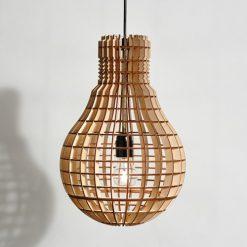 Đèn thả gỗ DG123