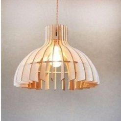 Đèn thả gỗ DG154