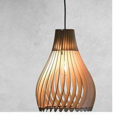 Đèn thả gỗ DG157