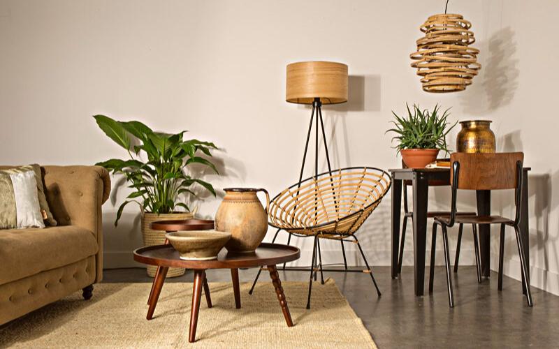 Bàn ghế mây tre - Lựa chọn lý tưởng trong việc trang trí nội thất