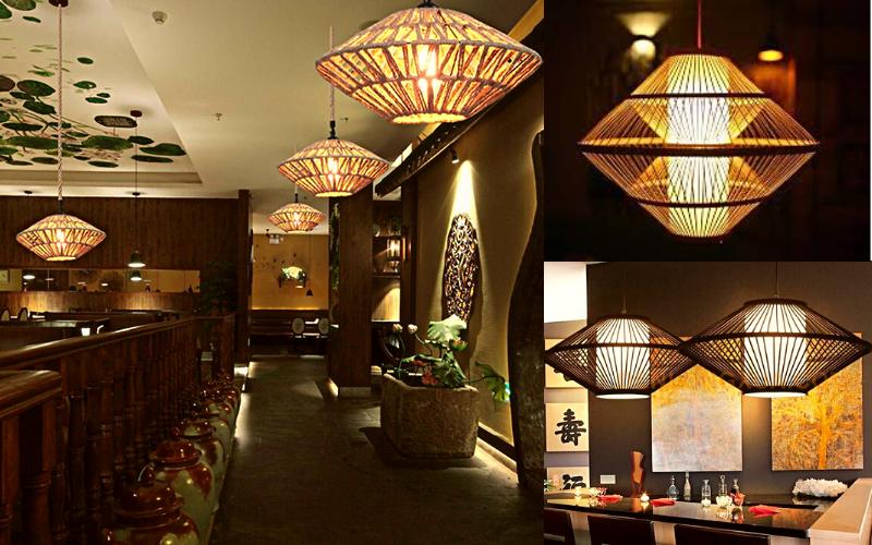 Đèn đĩa bay đa dạng phong cách: Nhật Bản, Trung Hoa, Việt Nam